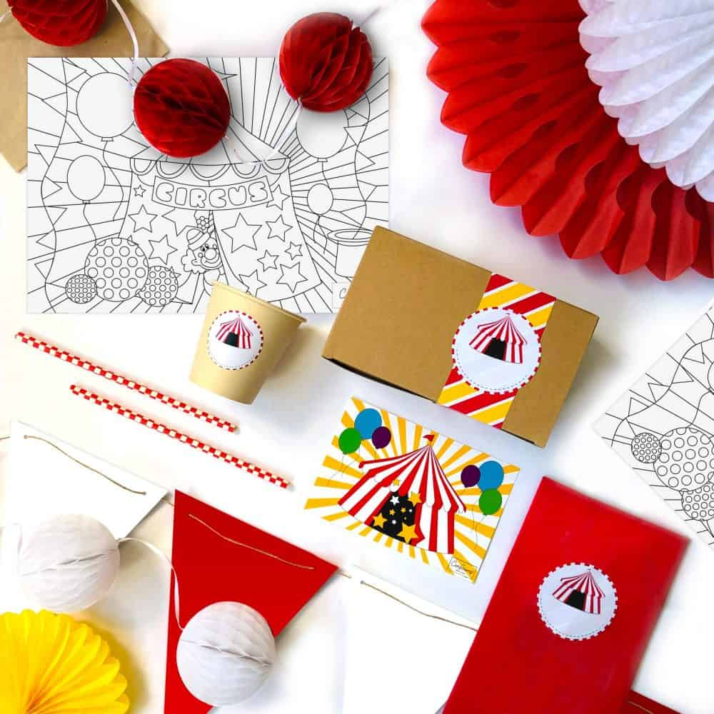 The Conscious Party Box: Circus 'Party Of 6'