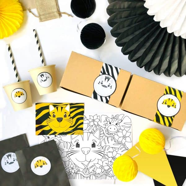 The Conscious Party Box: Jungle Party Box