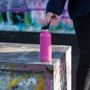 Stainless Steel Water Bottle Triple Insulated With Flip Lid Flamingo T 2 D 5423 I 65 G 0 V 2 Eco Friendly Products