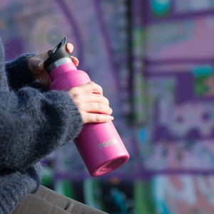 Stainless Steel Water Bottle Triple Insulated With Flip Lid Flamingo T 2 D 5424 I 65 G 0 V 2 Eco Friendly Products