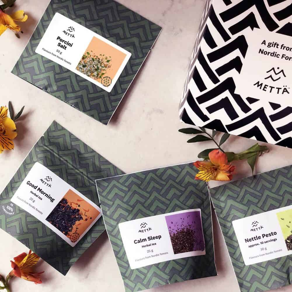 Metta Forest Food And Herbal Tea Gift Eco Friendly Products