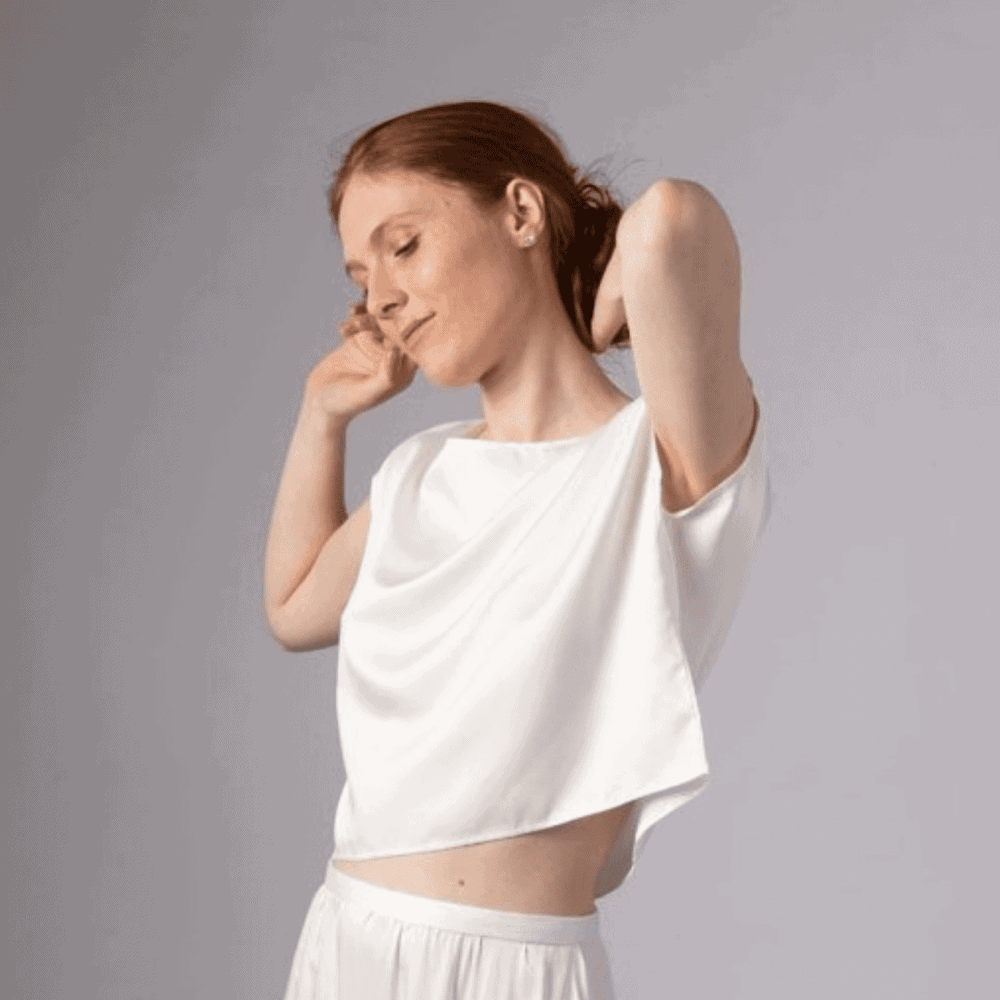 Bamboo Silk Top Eco Friendly Products