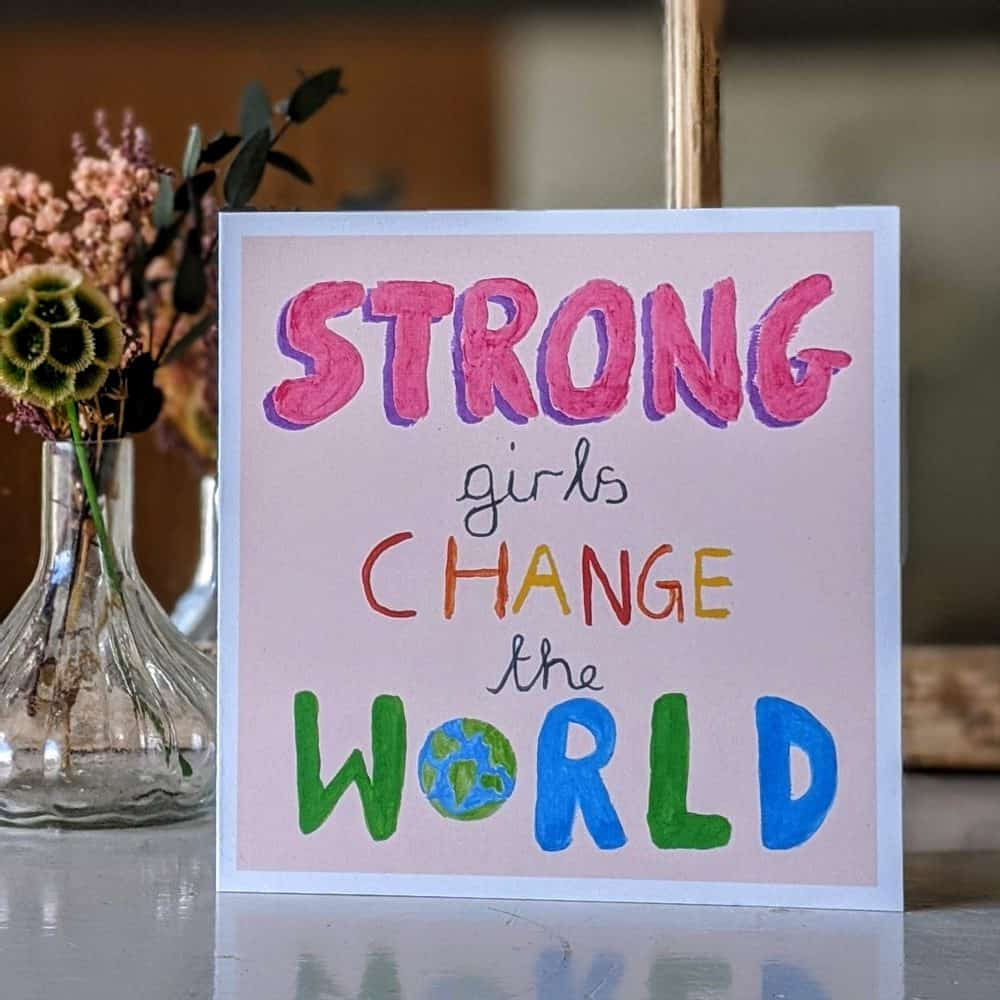 Strong Girls Eco Friendly Products