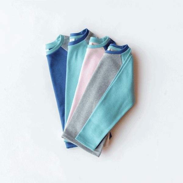 KIT Clothing organic cotton long sleeve t-shirt all colours