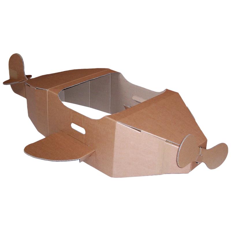 Brown Cardboard Aeroplane Eco Friendly Products