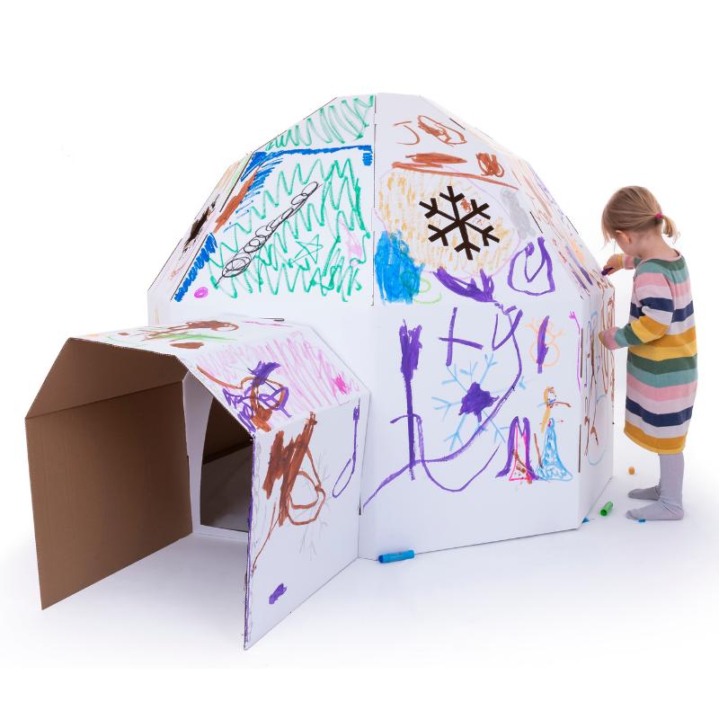 Cardboard Igloo Eco Friendly Products