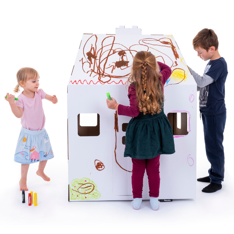 Cardboard Playhouse Eco Friendly Products