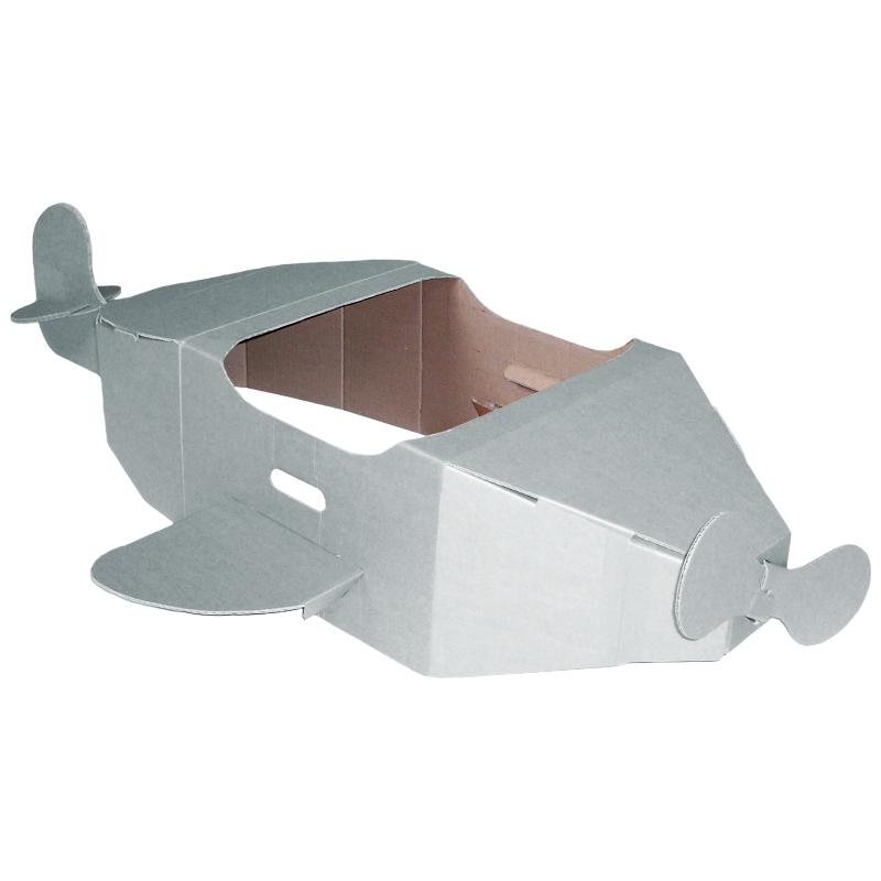 White Cardboard Aeroplane Eco Friendly Products