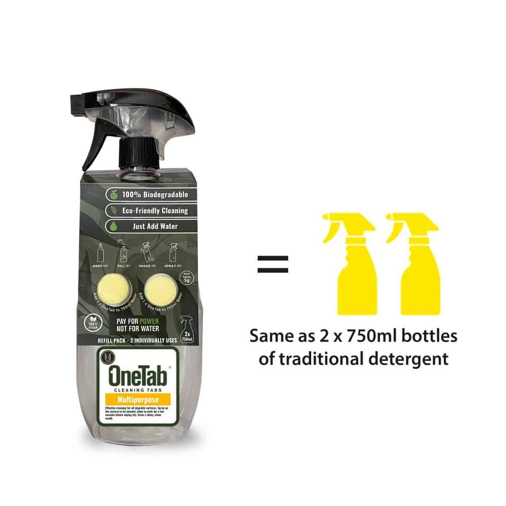Uuonetab Bottle Equals Multipurpose Eco Friendly Products
