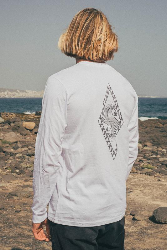 Elements Longsleeve White 2 Eco Friendly Products