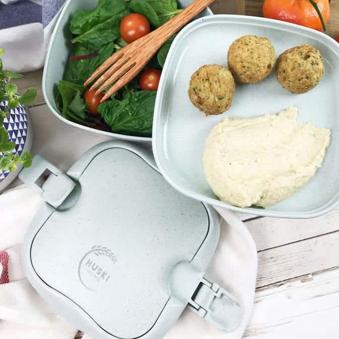 Huski Home Duck Egg Blue Lunchbox Salad Hummus Story Img 1250 26A9F41C C295 452A 805F Eco Friendly Products
