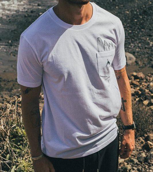 Quiver I INMIND Clothing I Men Pocket T-shirt