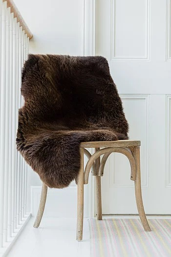 Welsh Mountain Brown Sheepskin Eco Friendly Products