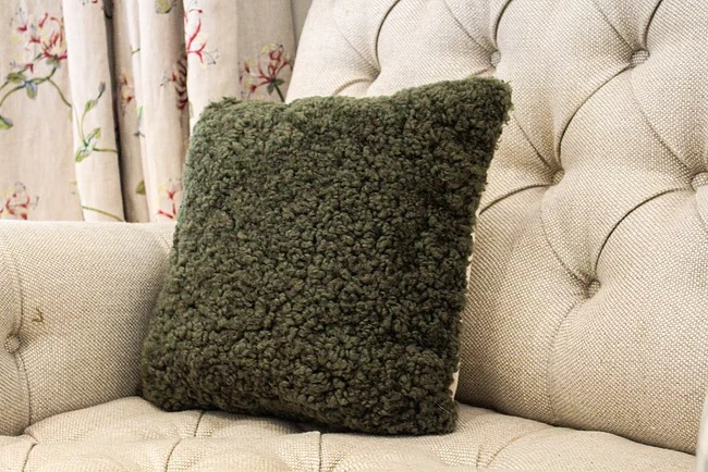 Olive Cushion Eco Friendly Products