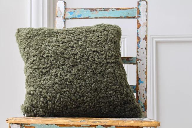 Sheepskin Cushion Eco Friendly Products