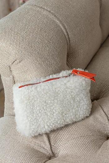 Sheepskin Purse Eco Friendly Products